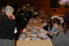 Counting at the 2010 local elections