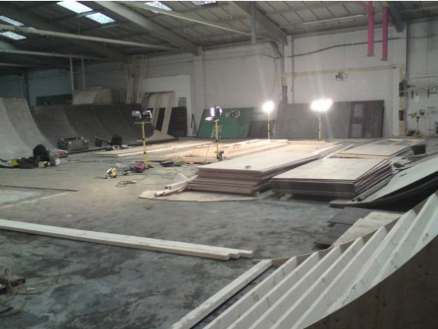 New indoor skate park opening delayed blog preston for Indoor skatepark design uk
