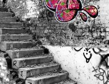 Graffiti on Queen Street, Preston