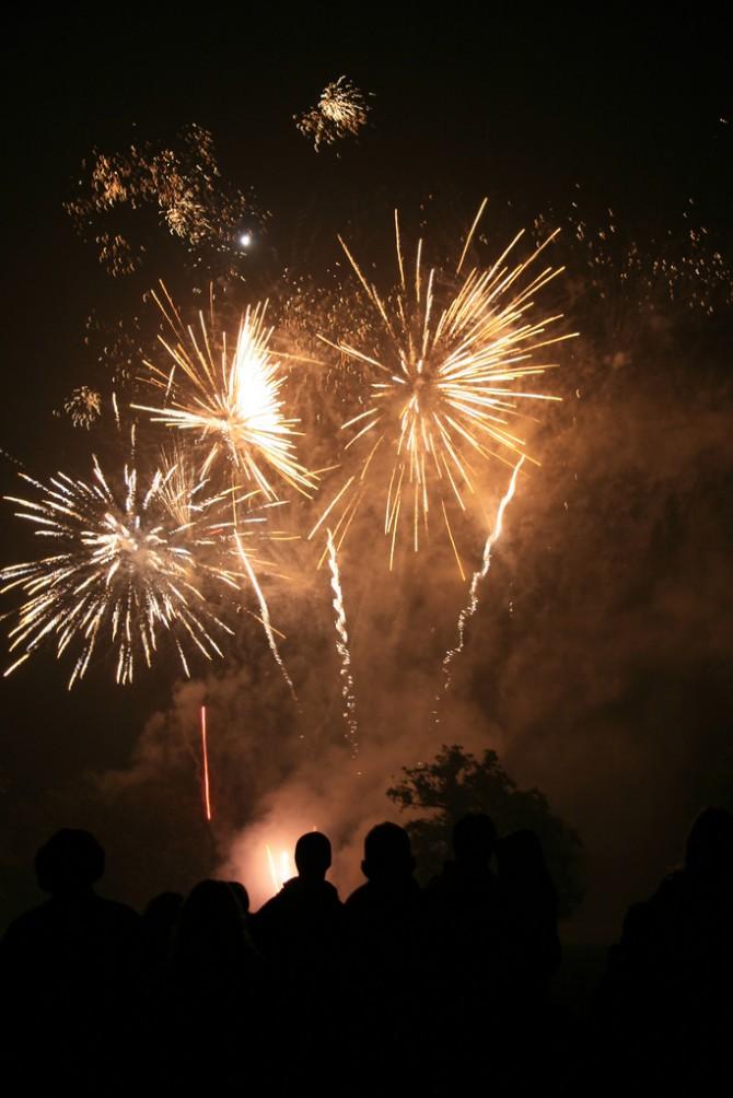 fireworks over preston