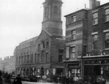 Old Town (Moot) Hall, Fishergate, Preston 1862