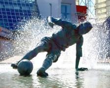 sir tom finney's splash