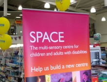 HobbyCraft Charity Event for SPACE
