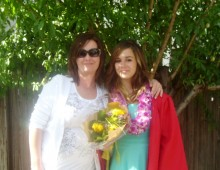 Tracey Patrick with her daughter Jessica
