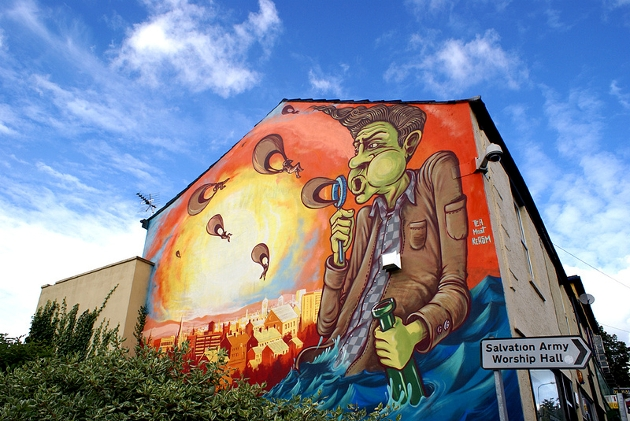 How preston mural project aims to rejuvenate city with for City mural projects