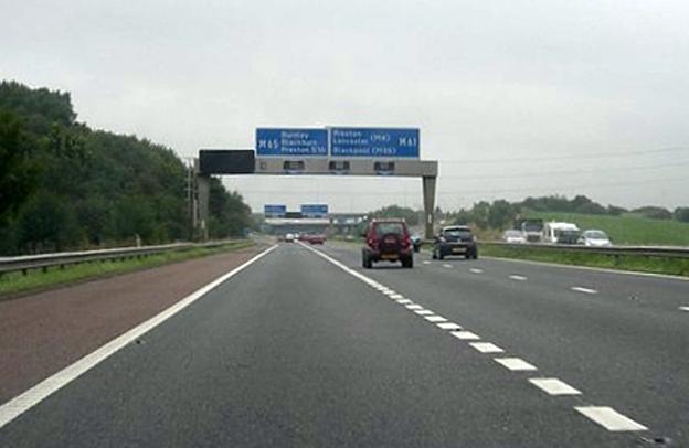 Serious Road Traffic Collision On M6 North Near Preston