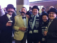 The North End Gentry in all their finest last year