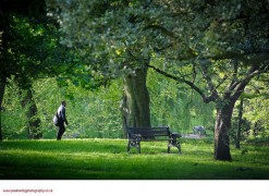 Winckley Square is a haven for office workers during the summer lunchtimes