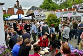 Thousands of real ale fans will flock to the Continental for the festival