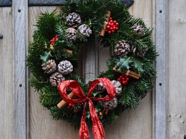 Make your own christmas wreath workshop blog preston Christmas wreaths to make