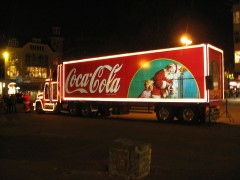 The Coca Cola truck will make an appearance in Preston