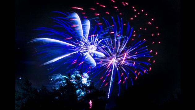 Fireworks at Preston Grasshoppers