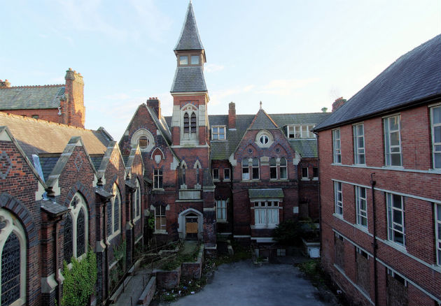 The former orphanage buildings are owned by a property developer