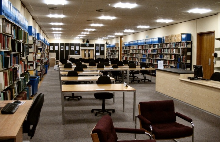Inside the Archives on Bow Lane
