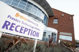 The Marsh Lane centre is a place for new businesses to have office space