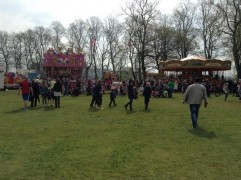 Plenty of funfair rides to enjoy