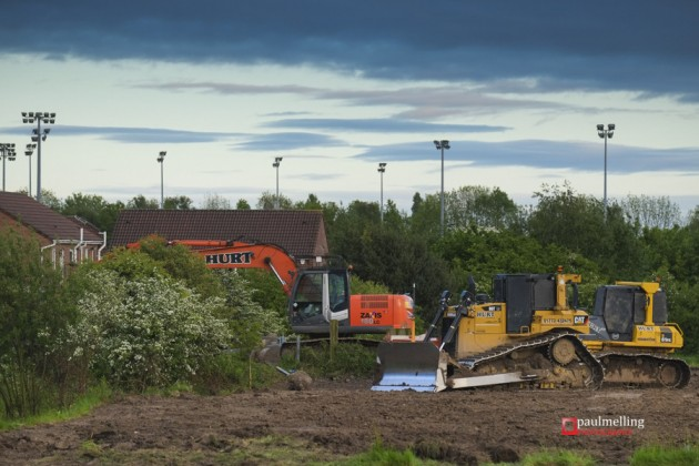 The Cottam development has been slow in getting started