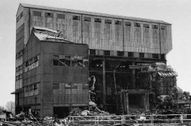 The building was torn down in the 1980s
