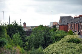 The former Preston to Longridge line would be re-opened under the alternative Garden City plans
