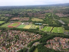 The UCLan Sports Arena and Ingol, Cottam and Ashton