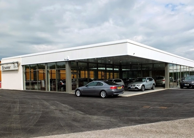 Current Bowker BMW showroom
