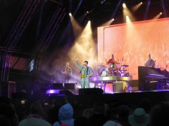 James Blunt performing at Hoghton Tower
