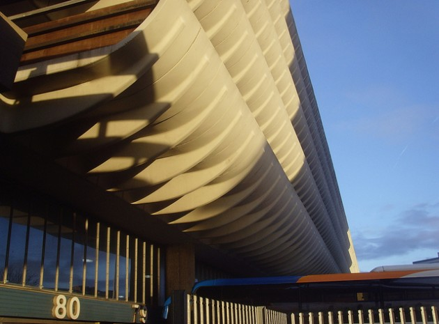 Preston Bus Station is often praised for its brutalist style Pic: Tony Worrall