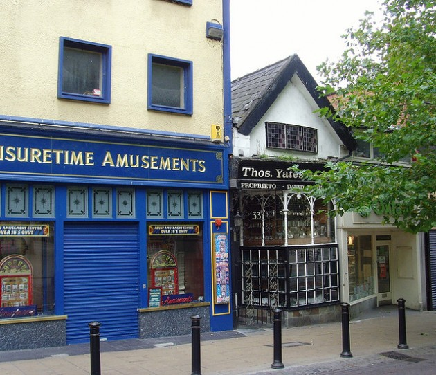 The amusements arcade will become a betting shop