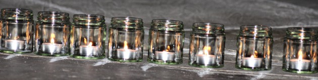 Strip of candles