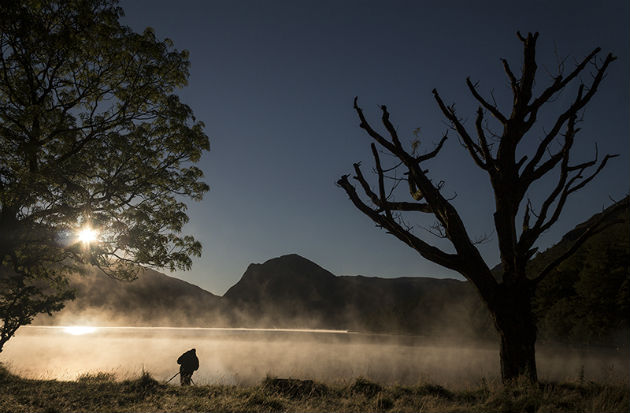 Mist on the sunrise Pic: Lee Sutton