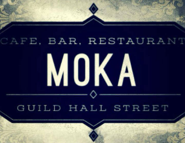 Moka is tucked away down Guild Hall Street