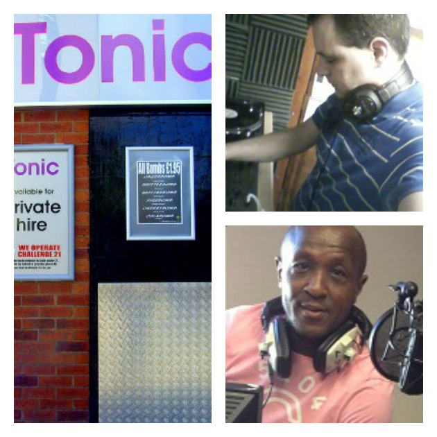 Club Tonic hosts the night, and top right DJ Tim has booked Friday's acts which including Preston FM DJ LJ