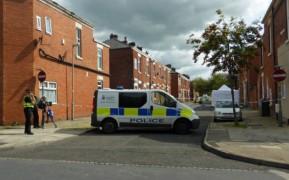 Police cordon on St Stephen's