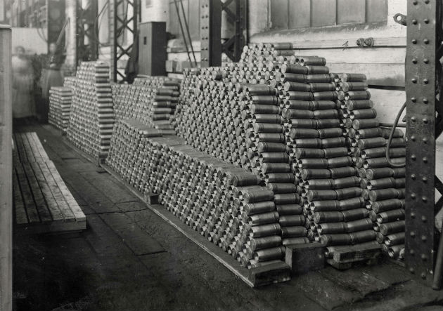 3.3m shells sent to the battle in Europe