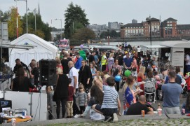Family Fun Day at the Green Frog on Preston docklands