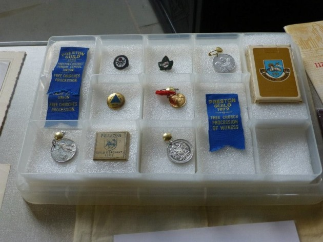 A wonderful display of Preston Guild medals from 1902 onwards