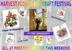 Minster Harvest Weekend Poster