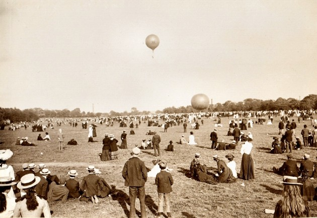 1902 Preston Guild Balloon Ascent.