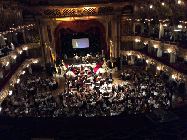 The BIBAs ceremony in full flow