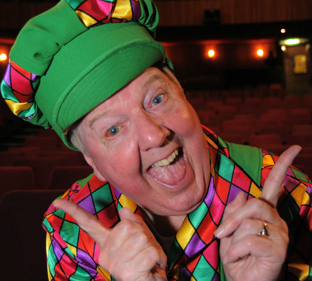 Jimmy Cricket is the main star of the Preston Panto 2014