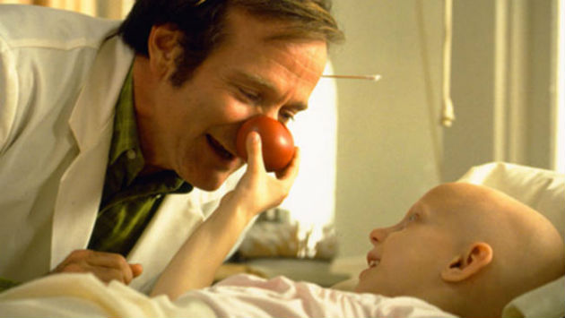 Patch Adams is one of the films to be shown