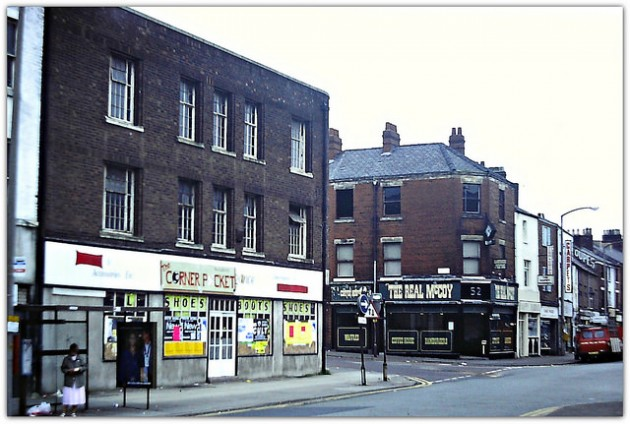 Church Street in 1985