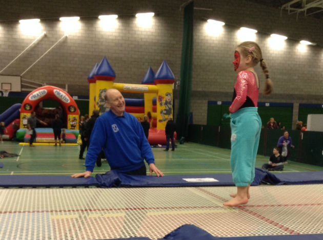 One of the previous sessions run by Preston Trampoline Club