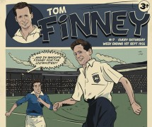 The front cover of the limited edition Finney prints
