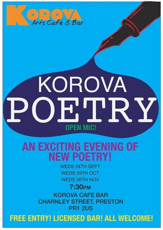 korova poetry