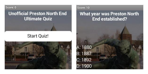 How will you fare in the PNE quiz?
