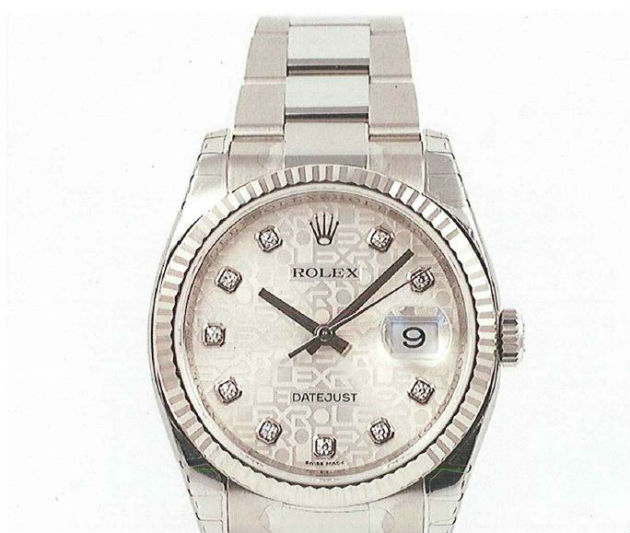 The Rolex taken is worth more than £6,500