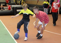 Streetwise Soccer in action