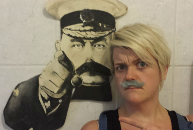 Will you get you tache on for the record attempt?