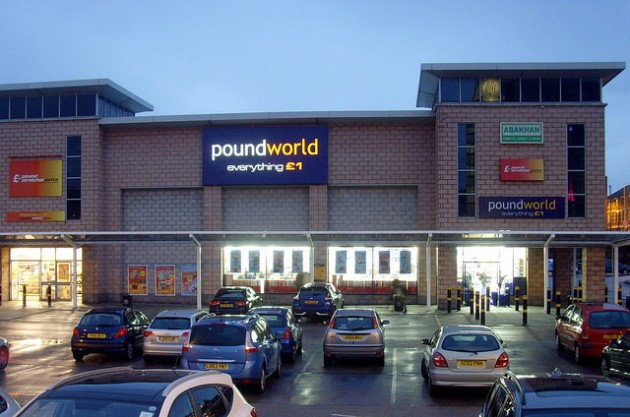 New Poundworld open in Preston city centre